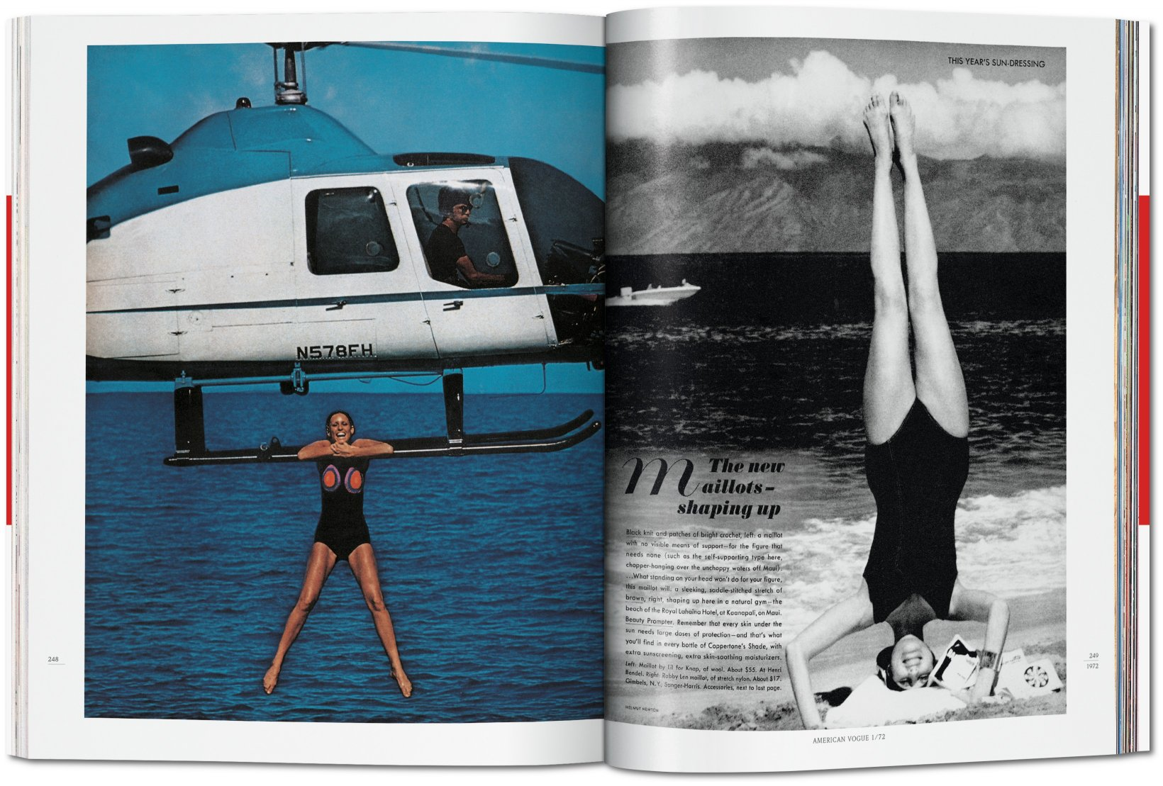 helmut newton pages from the glossies folio. Black Bedroom Furniture Sets. Home Design Ideas