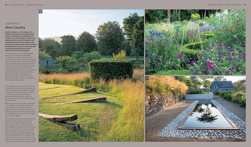 Garden design a book of ideas heidi howcroft marianne for Best garden design books 2015