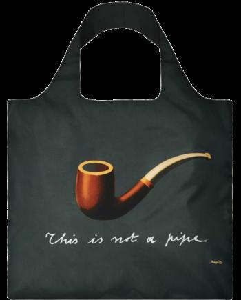 Torba. René Magritte The Treachery of Images
