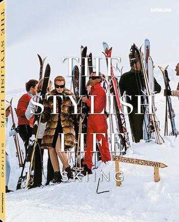 Stylish Life. Skiing