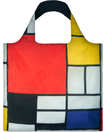Torba. Piet Mondrian Composition with Red, Yellow, Blue and Black