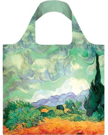 Torba. Vincent Van Gogh A Wheat Field with Cypresses