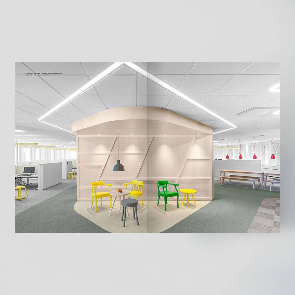 The other office 2 creative workplace design carmel for Office design book