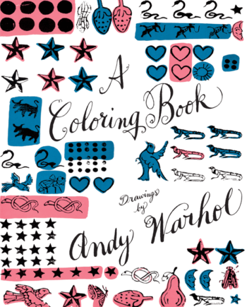 A Coloring Book. Drawings by Andy Warhol