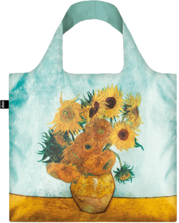 Torba. Vincent van Gogh Vase with Sunflowers