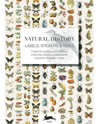Label & Sticker Book. Natural History