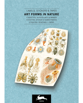 Label & Sticker Book. Art Forms in Nature