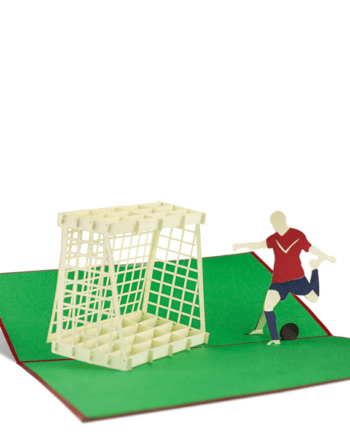 Kartka 3D. Piłka nożna