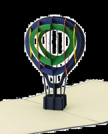 Kartka 3D. Balon